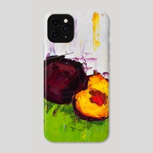 I Can Feel It in My Plums - Phone Case by Eric Buchmann