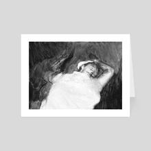 Death Study - Art Card by William Reinsch