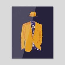 Rain Gear - Acrylic by Geoff Tice