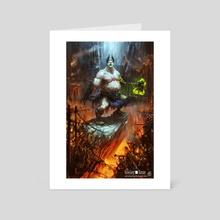 Revenge of The Underground - Art Card by Michele Giorgi