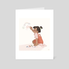 At A Young Age - Art Card by artngbubu