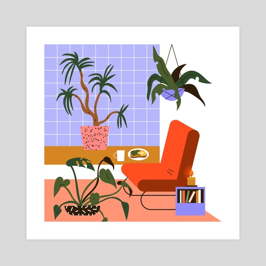 Lounge by Emmi-Riikka Vartiainen