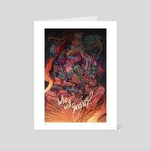 The Disillusion - Art Card by Anna Malkova