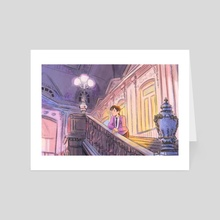 after school - Art Card by alex siple