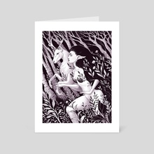 Faery - Art Card by Serena Archetti