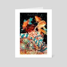 Hope World | Hobi - Art Card by Buhuhu Art