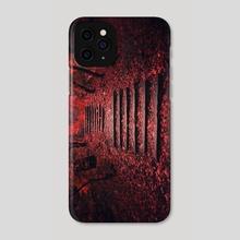 Autumn Stairs - Phone Case by Tóth Zoltán