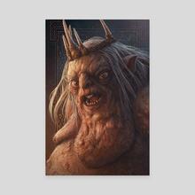 The Goblin King - Canvas by Kerem Beyit