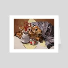 Oh, Deer - Art Card by Lucia Li