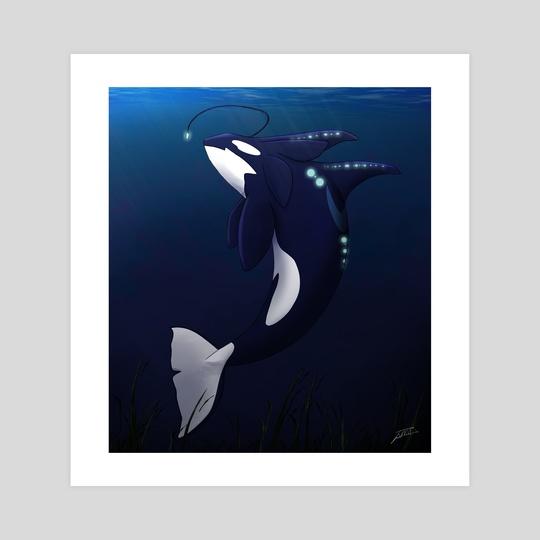 Deep sea Orca by Eckkah Tomb