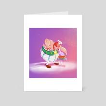Chef Obelix  - Art Card by Yeba Salliue