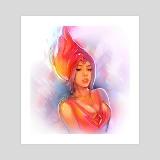 Flame Princess by Sukesha Ray