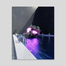 Cloud 9 - Acrylic by Roland Krizan
