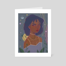 Amethyst - Art Card by Prinzavocado