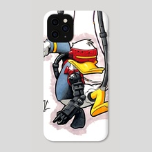 Donald - Phone Case by Michael Venegas