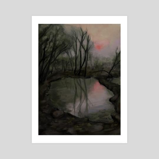 Dark Swamp by Alexey Loparev