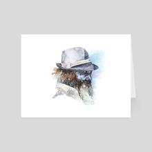 face#12 - Art Card by Rafał Wnęk
