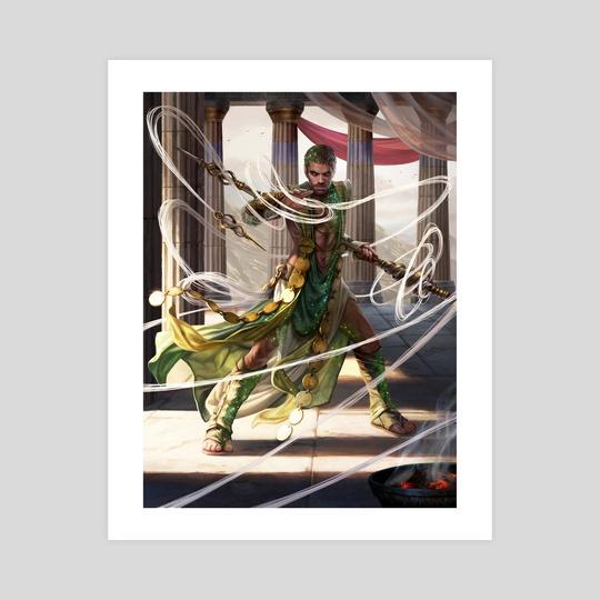 Calix, Destiny's Hand by Magali Villeneuve
