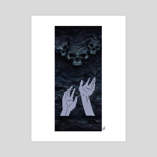 sinking soul by vernsiesart