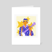 Sufjan - Art Card by Cam Estela