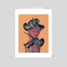Ferocious - Art Card by Matt Byle
