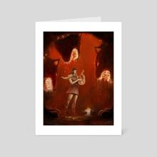 Orpheus - Art Card by Xav DRAGO