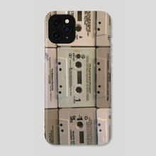 Cassettes - Phone Case by Lauren Scott