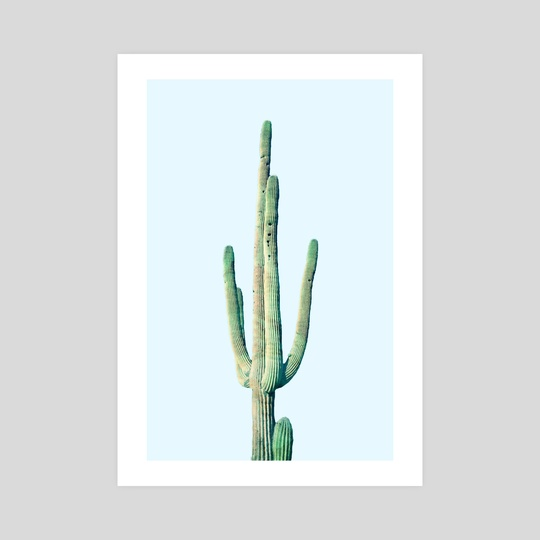 Loner Cactus by 83 Oranges
