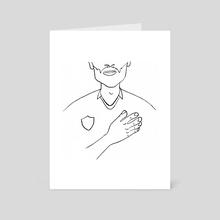 Motherfocloir: The National Anthem - Art Card by Kirsten Shiel