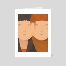 Connection - Art Card by Naftali Beder