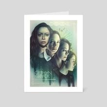 Start Asking Who  - Art Card by En Tze