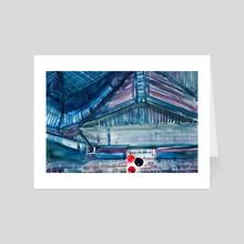 Umbrella - Art Card by El Tinois