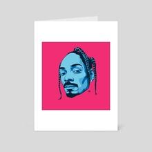 Blue - Art Card by Danny Walker