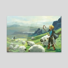 Breath of the Wild: Twooloo - Acrylic by Karlen Tam