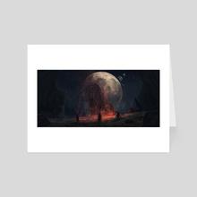 Eclipse - Art Card by Timi Honkanen