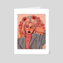 FLORAL - Art Card by Devana