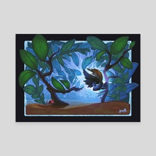 Betta Fish - Canvas by Igzell