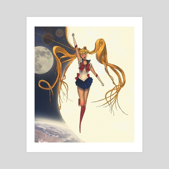 Sailor Moon by Arist Deyn