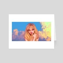 Lip & Hip - Art Card by Mar