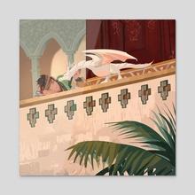 Prince Khalid 3 - Acrylic by Mai
