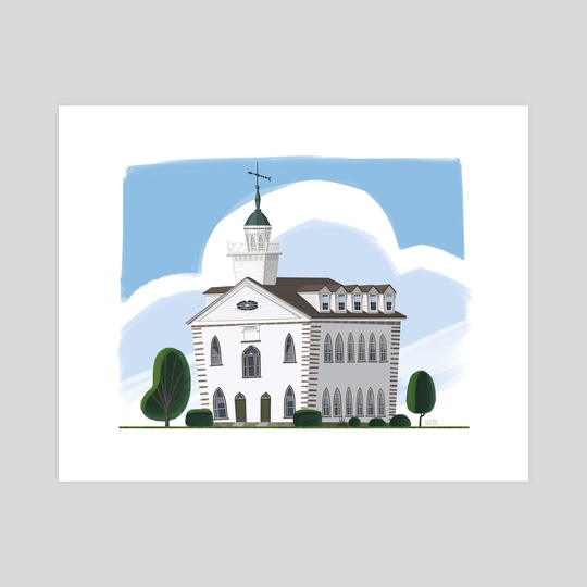 Kirtland Temple by Matthew Eng