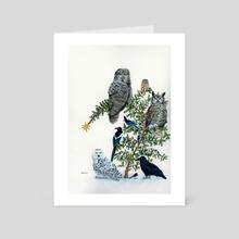 Birds of a Feather - Art Card by Jason Vukovich