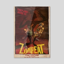 Zombeat - Acrylic by Jerry Liu