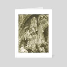 Bone Pontiff - Art Card by Tom Horstmann