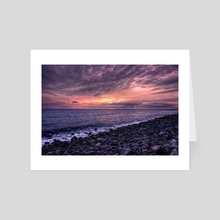 Sundown II - Art Card by Diogo Pereira