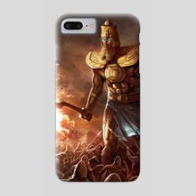 The fall of Ur - Phone Case by Ivan Berov