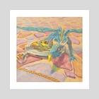 Watch Dragon - Art Print by Jon C Pool
