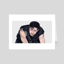 0822 BANG CHAN - Art Card by Pat Vivas