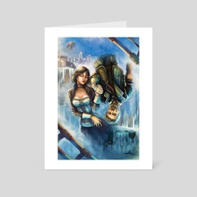 ∞ Infinite ∞ Lives, lived, will live. - Art Card by Karlos Goñi