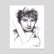 Ed Sheeran - Canvas by SongYi Lee